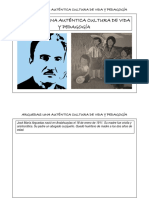 Arguedas Una Auténtica Cultura de Vida y Pedagogía- Historieta Formato