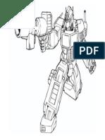 Mewarnai Optimus Prime