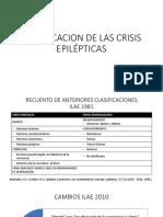 Clasificacion de Las Crisis Epilépticas