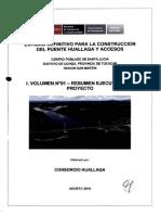10992.i Vol. 01 Resumen Ejecutivo Del Proyecto - Agosto 2018 1