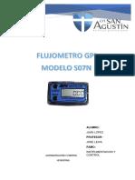 Flujometro Gpi