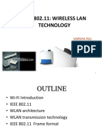 IEEE 802.11 WIRELESS LAN TECHNOLOGY