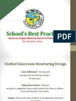School's Best Practices