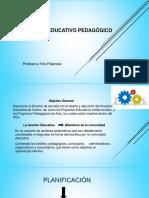 Presentacin de Proyecto Pedagogico.