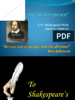 Shakespeare Week PPT
