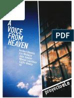 proyectoeLe - A Voice From Heaven II - Dossier