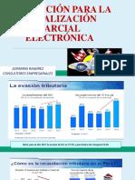 Motivacion Para La Fiscalizacion Parcial Electronica