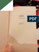 Lenz, by Georg Büchner