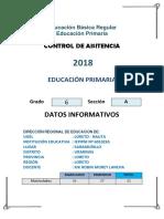 CARATULA CONTROL DE ASISTENCIA.docx