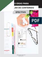 Plan de Contenido Workbook Web