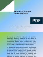 Clase N°   Manejo y Aplicacion de Herbicidas