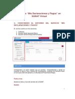 Nueva Plataforma Mis Declaraciones y Pagos _ Declara Fácil 621_ IGV Renta Mensual