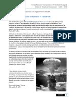 De Las Ideas a La Acción en La Era de La Catástrofe -Parte 1ra - a 70 Años de La Finalización de La Segunda Guerra Mundial