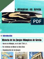 Juegos Olímpicos de Grecia Cata