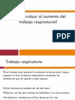 Como Evaluar El Aumento Del Manejo Respiratorio