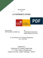 Ecommerce Website Report