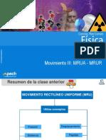 Clase 5 Movimiento III MRUA - MRUR.ppt