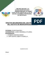 Acetato de Medroxiprogesterona