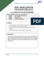 Informe Laboratorio de Maquinas Eléctricas
