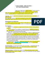 UNIT 1 LEGAL STUDIES – AREA OF STUDY 1.docx