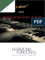 eBook 5 Dicas Para Rearmonizar