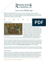 171 Rosslyn Adult Learning Guide Women in the Middle Ages FINAL