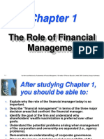 The Role of Financial Management CH.1