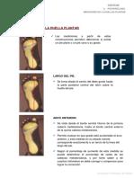 0. Posturologia. Mediciones de La Huella Plantar