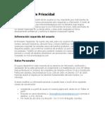 Politicas de Privacidad.docx