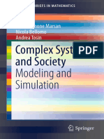 Complex Systems and Society Modeling and Simulation Springer