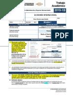 Trabajo Economía Internacional