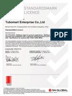 Certificate Gasflex Buena (11)