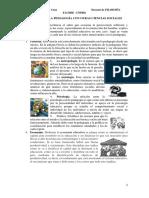 Relación Pedagogía y Otras Ciencias