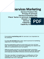 2.Services Marketing(Mkt Mix)