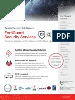 FortiGuard Security Services