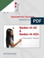 Presentation on 44ad