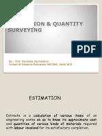 Estimation SODE