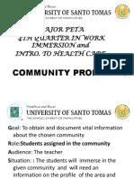 Community Profilling