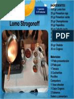 Lomo Strogonoff