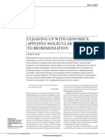 Cleaning Up With Genomics