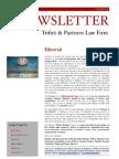 Newsletter T&P N°41 Eng