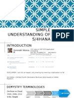 318058990 Simple Understanding of S4 HANA