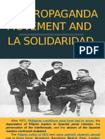 The Propaganda Movement and La Solidaridad