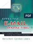 Effective E-Mail Marketing the Complete Guide to Creating Successful Campaigns Amacom
