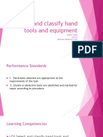 LO1 Select and Classify Hand Tools and Equipment [Autosaved]