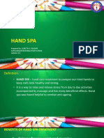 How to Pdo Hand Spa and Foot Spa.pptx
