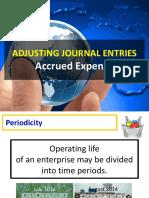Lesson 7.1 - AJE Accrued Expenses