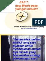 BAB 7_ Strategi Bisnis Pada Lingkungan Industri