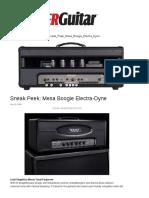 Mesa Boogie Electra-Dyne