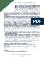 Indice Curso Medicina Psicobiologica